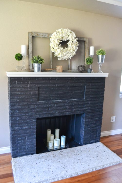 Tremendous Fireplace Makeover With Built In Window Seats The Created Home Machost Co Dining Chair Design Ideas Machostcouk