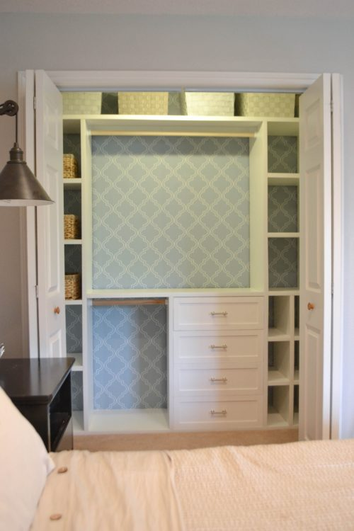 DIY Custom Small Closet System