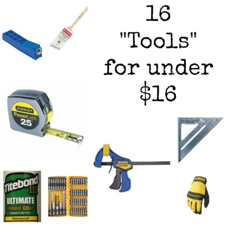 Must have ideas for tools that won't hurt your wallet