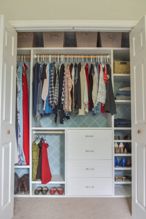 Custom Small Closet System The Created Home
