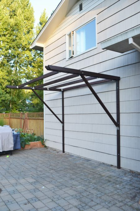 How to Build a Super Frugal Pergola The Created Home