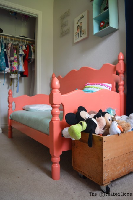toddler bed headboard footboard upcyle diy