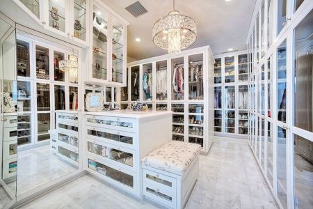Walk In Closet Bench Closet Island Mirrored Drawers Glass Display Cabinets