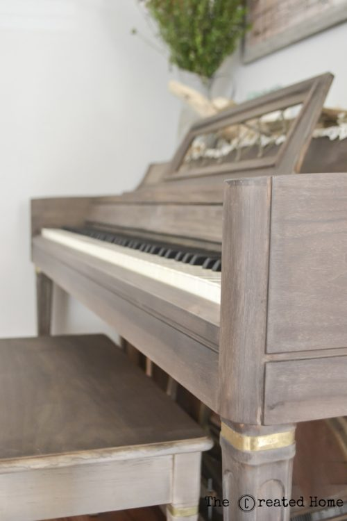 How to refinish a piano using Weatherwood Reclamation stain