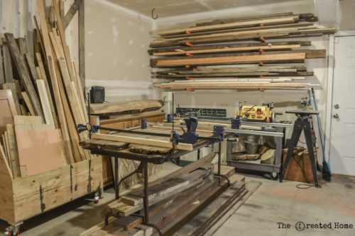 diy woodshop garage workshop organization