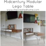 Midcentury Modular Lego Table