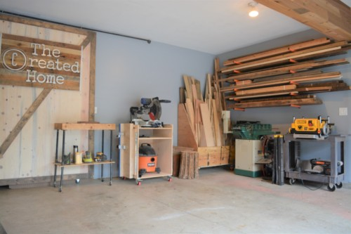 build a diy workshop garage shop tour