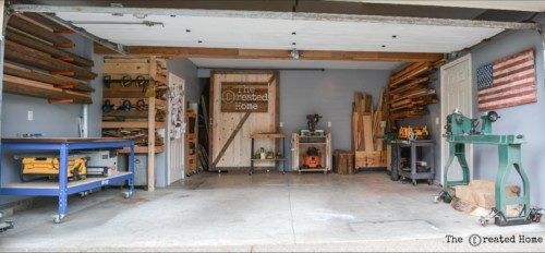 diy garage shop makeover overhaul organization