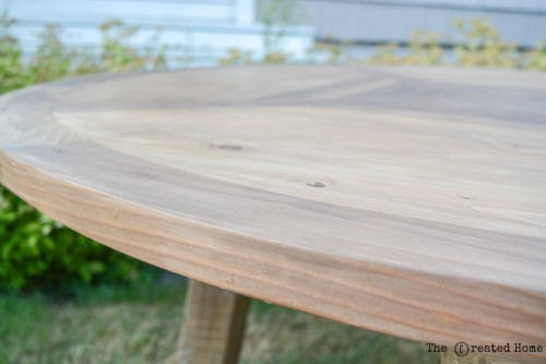 Weatherwood Stain Reclaimed wood dining table salvage wood mosaic farmhouse