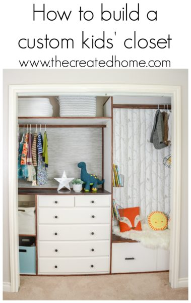 https://thecreatedhome.com/build-custom-kids-closet/