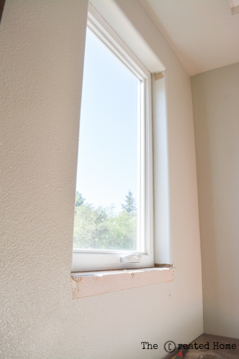 diy how to trim rounded window corners