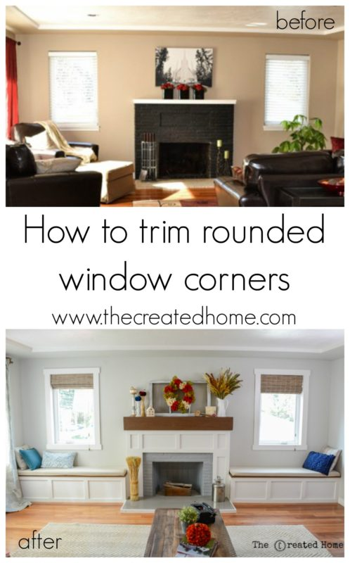 How to trim rounded window corners