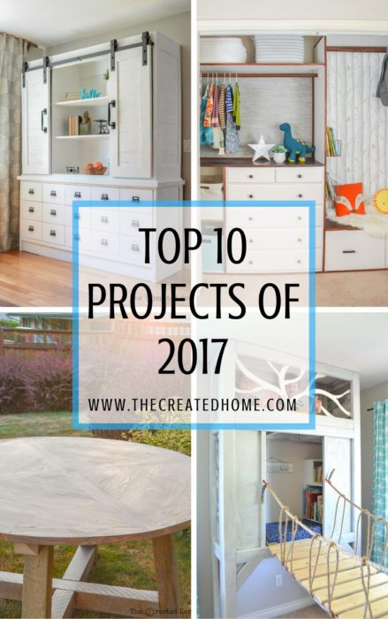 Top 10 Projects of 2017 the created home