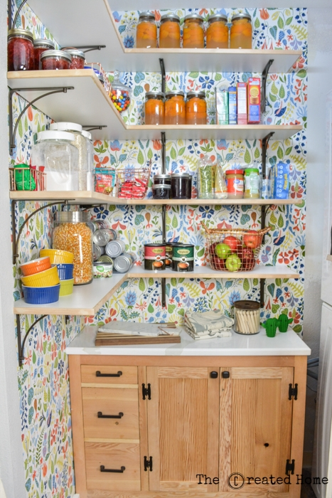 Small Walk In Pantry And Laundry Reveal The Created Home