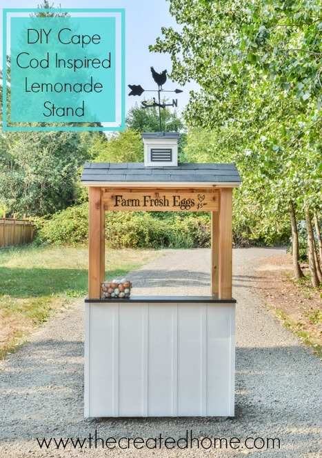 DIY Cape Cod Inspired Lemonade Stand Eggs