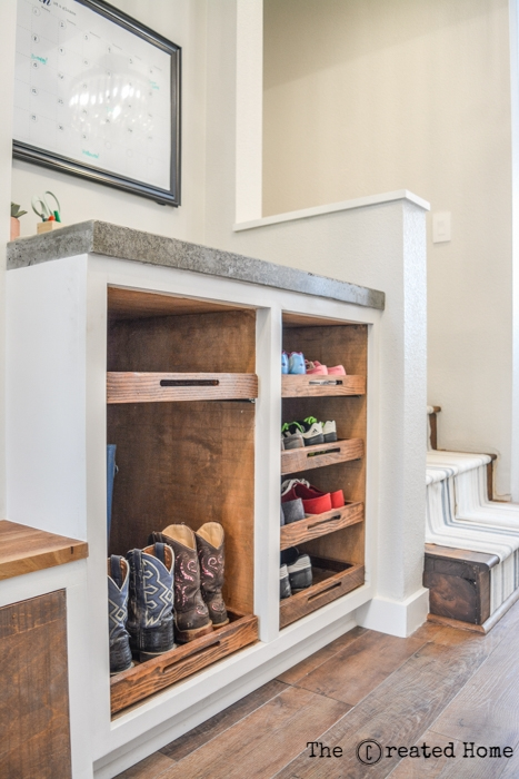 purebond rough sawn panels columbia forest products mudroom