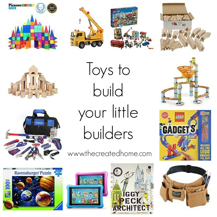 Toys to build your little builders round up