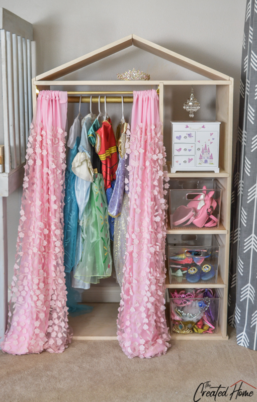 DIY Dress Up Wardrobe (Build Plans and Tutorial)