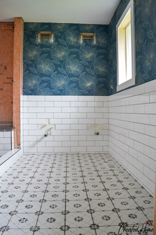 how to tile a floor and wall, a beginner's guide