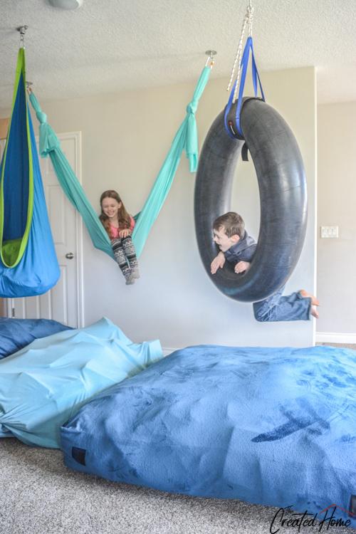 therapeutic hammock swing